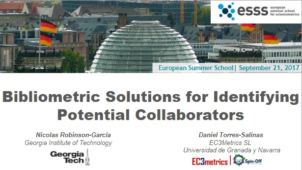 Bibliometric solutions for identifying potential collaborators