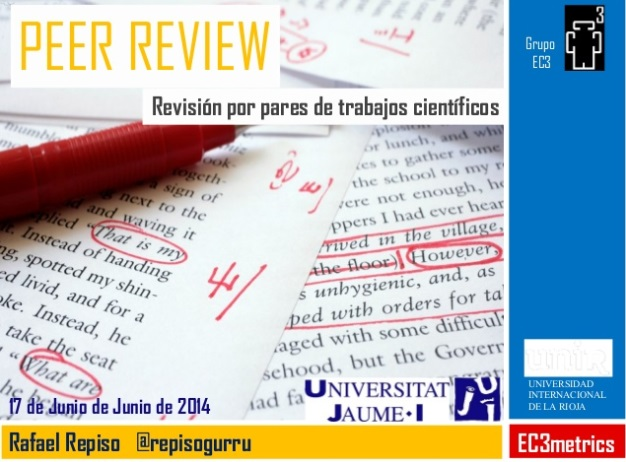 Peer Review. Revisión por pares
