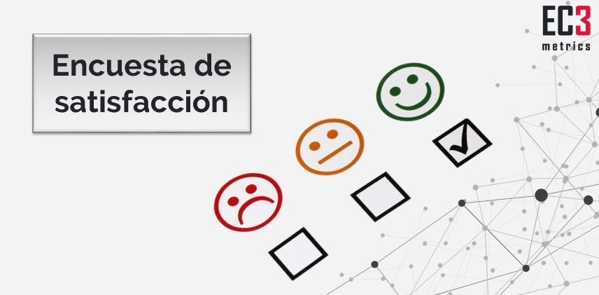 Análisis estadístico de la encuesta de satisfacción de EC3metrics