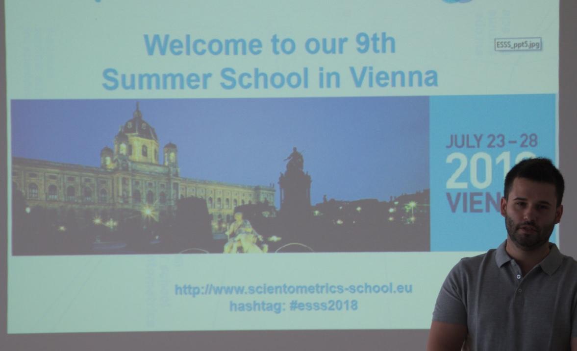 "Álbum fotográfico ""European Summer School for Scientometrics"" 2018"
