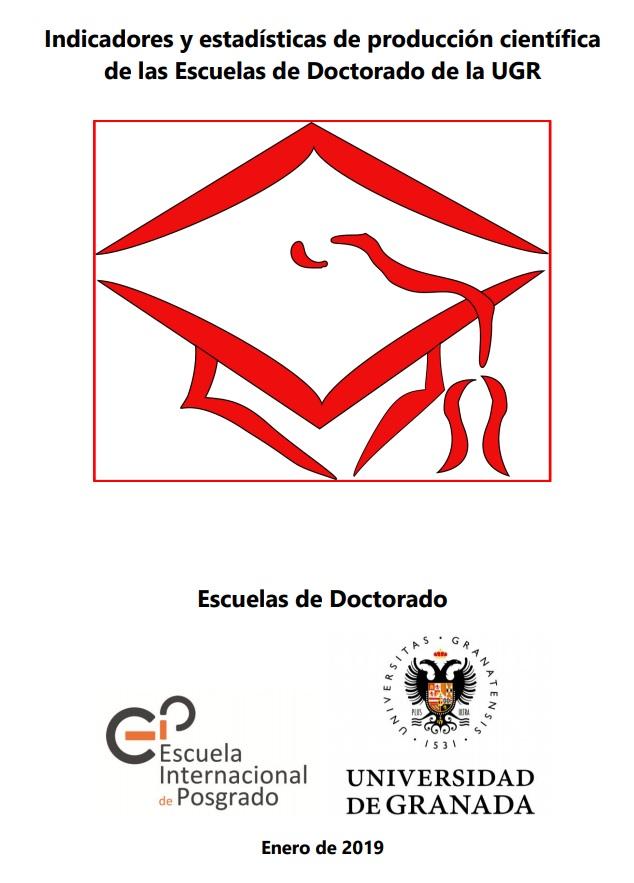 Indicadores y estadísticas de producción científica de las Escuelas de Doctorado de la Universidad de Granada
