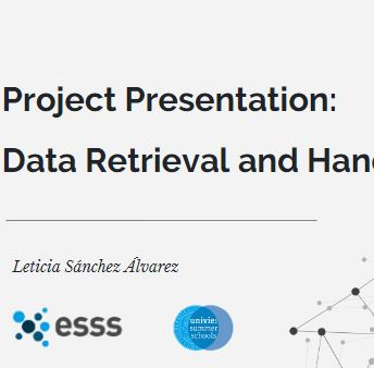 Project Presentation ESSS 2019