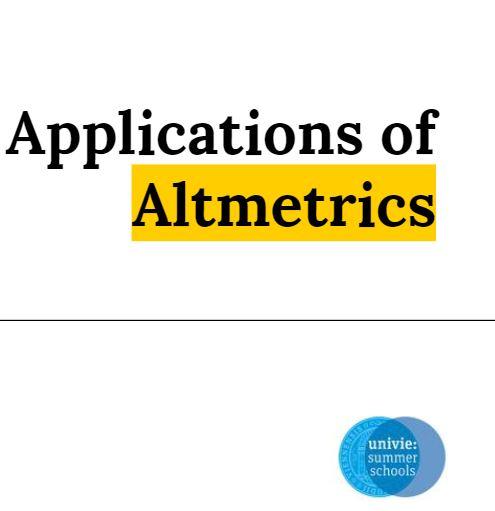 Practical Applications of Altmetrics